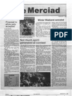 The Merciad, Feb. 7, 1985