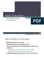 Struktur Data Stack