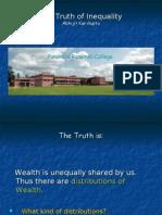 Talk on Wealth Distribution