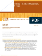 CHA Brief--Key Forces Driving the Pharmaceutical Industry Into 2004 (1-2004)