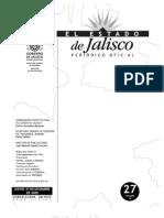 Ley de trabajo para Personas Con discapacidad Estado de Jalisco 2010