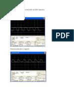 Retificador monofásico de meia onda com filtro