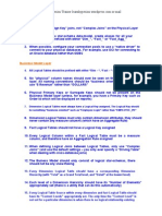 Best Practice OBIEE RPD Creation Rules