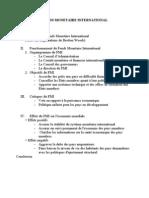 plan FONDS MONETAIRE INTERNATIONAL - Đào Phượng Nguyên