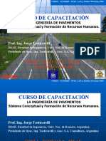 La Ingeniería de Pavimentos Bolivia 2007