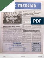 The Merciad, April 24, 1986