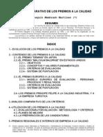 Analisis Comparativo Premios de Calidad