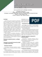 Fisioterapia no paciente sob ventilação mecânica