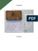 Linear B Lexicon