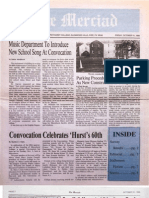 The Merciad, Oct. 31, 1986