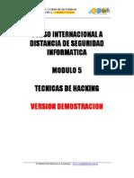 Demo Seguridad a Mod5
