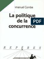Politique de La Concurrence (Emmanuel Combe)