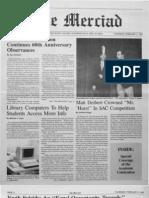 The Merciad, Feb. 5, 1987