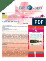 BiblioNotas Mayo 2011