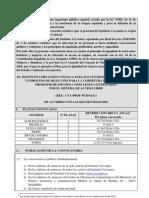 Requisitos para trabajo fundación Cervantes