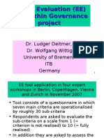 [PowerPoint version - slides] - Expert Evaluation (EE) Tool within Governance project