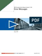 Error Messages 71