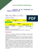 NTP 175 Evaluacion de Las Condiciones de Trabajo Metodo L.E