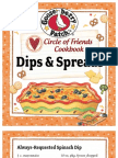25 Dips & Spreads Recipes