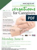 Conversations for Caregivers