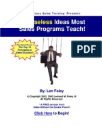 Six Useless Ideas Most Sales