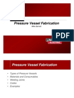 Pressure Vessel Fabrication - Int Dist Training 7-30-09