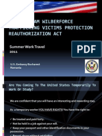 The William Wilberforce Trafficking Victims Protection Re Authorization Act