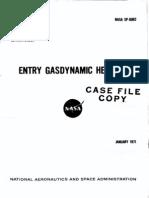 EntryGasdynamicHeating19710021703_1971021703