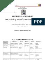 plan general de evaluacion
