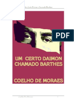 Um Certo Daimon Chamado Barthes