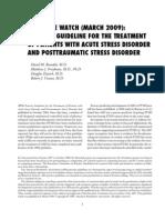 StressDisorder-PTSD_Guideline 2011