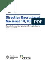 Directiva Operacional Nacional N1_2009