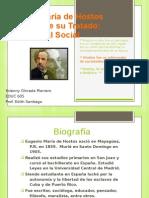 Eugenio María de Hostos presentation