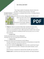 Bio Spring Study Guide