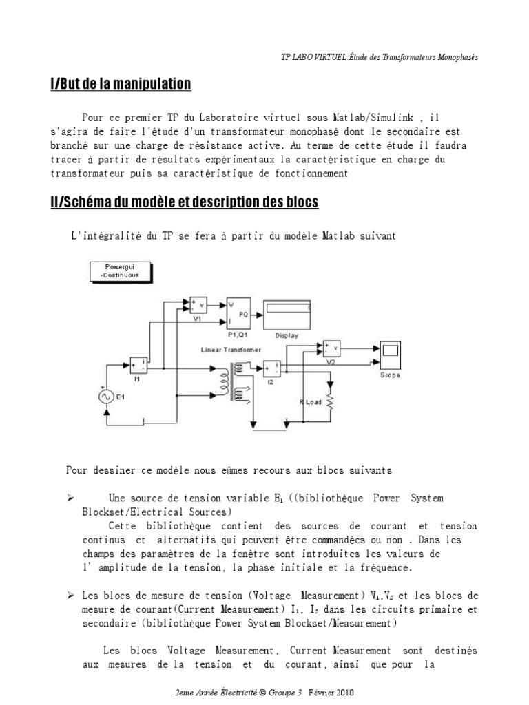 I/But de la manipulation: TP LABO VIRTUEL:Étude des
