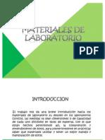 Materiales de Laboratorio.