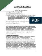 Beta-Alanina e Fadiga