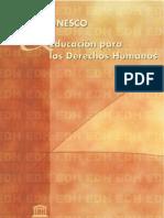 La Educacion Para Los Derechos Humanos