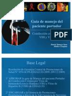 Guía de manejo del paciente portador VIHVHB