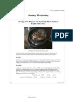 Stovetop Metalcasting