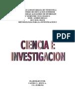 Ciencia e Investigacion I