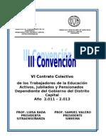Sindicato VI Contrato Colectivo Unificado