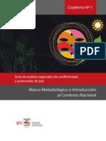 Cuaderno Nro. 1 Analisis de Conflictividad Marco Metodologico e Introducción al Contexto Nacional
