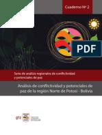 Cuaderno Nº 2 Análisis de conflictividad y potenciales de paz de la región Norte de Potosí - Bolivia