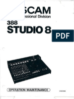 Tascam 388 Manual