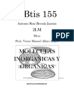 Molecolas Inorganic As y Organicas