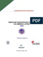 indice de participação cidadã