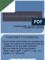 Unidad 3 FUNCIONES POLINOMICAS