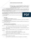 Regulamento Do Projeto 2003