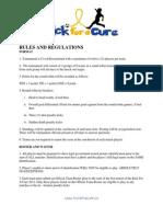 Rules & Regulations KFAC 2011